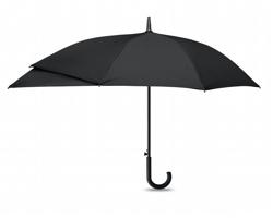 Automatický deštník PHONY s rozšířenou částí na batoh - černá
