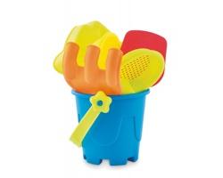 Plastová sada plážových hraček TOILS, 6 komponentů - vícebarevné