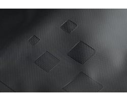 Polyesterový vodotěsný batoh LORN, kapacita 20-25 litrů - černá