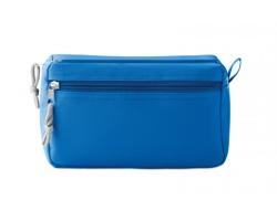 Polyesterová kosmetická taška SADDLED s poutkem - královská modrá