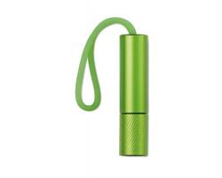 Kovová LED svítilna BEGINNER s poutkem - zelená