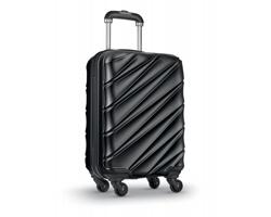 Cestovní kufr na PUNTS na kolečkách - černá