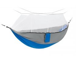 Nylonová hamaka DOYLE s integrovanou síťkou proti hmyzu - královská modrá