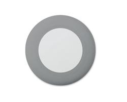 Bezdrátová nabíječka DIBASE se zatahovacím kabelem - šedá