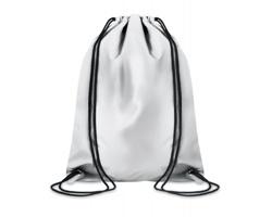 Polyesterový reflexní batoh GAMIC se stahovacími šňůrkami - stříbrná
