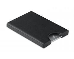 Plastové pouzdro na karty GIROSOLE s RFID ochranou - černá