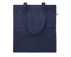 Recyklovaná nákupní taška PLAT - modrá