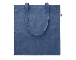 Recyklovaná nákupní taška PLAT - královská modrá
