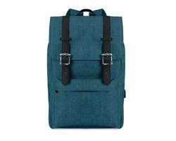 Polyesterový batoh na notebook LORON s magnetickým zavíráním - modrá