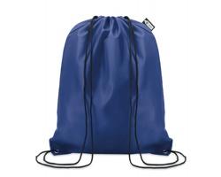 Ekologický batoh z recyklovaného materiálu INDO se zavíráním stahovací šňůrkou - modrá
