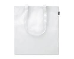 Ekologická nákupní taška UNCI z recyklovaných PET lahví - bílá