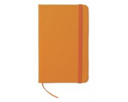 Linkovaný zápisník WIVED, formát A6 - oranžová