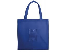 Skládací nákupní taška NODES - královská modrá
