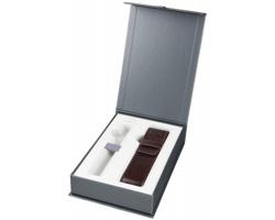 Značková dárková krabička Parker GIFT SET BOX PEN POUCH s pouzdrem na pero - šedá