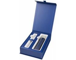 Značkové pouzdro na pero Waterman GIFT SET BOX PEN POUCH INCL v dárkové balení - modrá