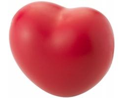 Antistresová pomůcka ve tvaru srdce DECL - červená