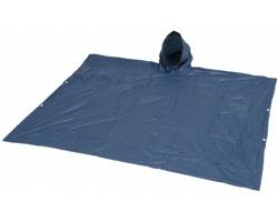 Nastavitelná pláštěnka PONCHO s pouzdrem - námořní modrá