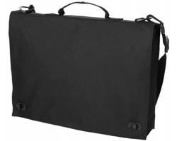 Retro polyesterová konferenční taška HABET - černá