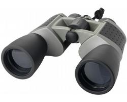 Profesionální kovový dalekohled FAINT v brašně přes rameno - šedá / černá