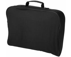 Konferenční taška WORMY, velikost A4 - černá