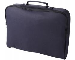 Konferenční taška WORMY, velikost A4 - námořní modrá