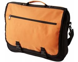 Konferenční taška ANCHORAGE s klopou na sponu - oranžová