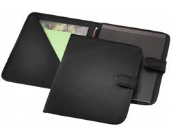 Konferenční desky na suchý zip VILE, formát A4 - černá