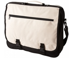 Konferenční taška ANCHORAGE s klopou na sponu - khaki