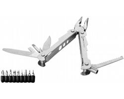 Kovový multinástroj JASPE, 19 funkcí v úložném pouzdu - stříbrná