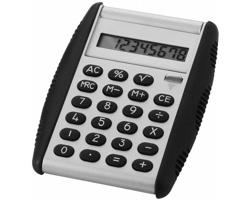 Osmimístná kalkulačka DIANE s podpěrou - stříbrná / černá