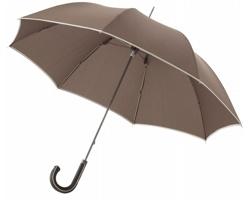 Deštník s ozdobnou rukojetí Balmain UMBRELLA 23 - hnědá