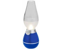 Plastová lucerna DAMPERS s funkcí stmívání - královská modrá