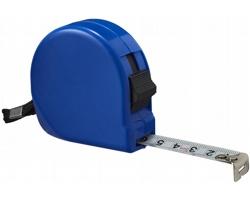 Plastový svinovací metr HIDABLE, 5 m - královská modrá