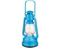 Plastová LED lucerna TERRACE - královská modrá
