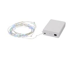 Světelný řetěz LIDO aktivovaný zvukem, 50 LED - bílá