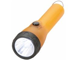 LED svítilna RIELS přívěsek na klíče - oranžová