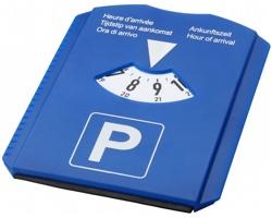 Multifunkční parkovací hodiny STANK se škrabkou na zamrzlá okna - modrá