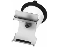 Držák mobilního telefonu CONGA do auta s možností otáčení 360° - transparentní / bílá