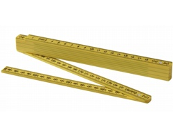 Skládací oboustranný metr PINTS, délka 2 m - žlutá