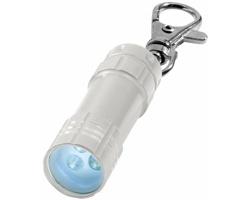 Přívěsek na klíče LED svítilna WHIN - stříbrná