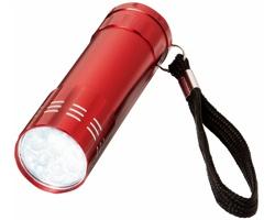 LED svítilna GORY s poutkem - červená