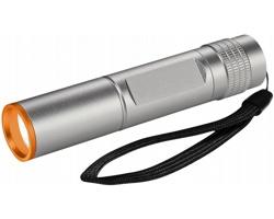 Vodotěsná mini LED svítilna Elevate HORNS - stříbrná