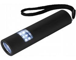 Miniaturní zářivá LED blikačka VOILA, se 3 režimy svícení - černá