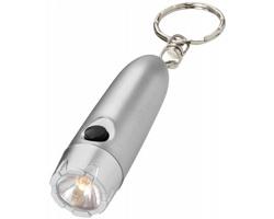 Svítilna na klíče Bullet GIRTS - stříbrná