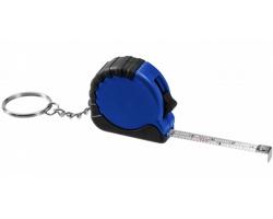 Přívěsek na klíče metr LIBYA s brzdou, délka pásma 1 m - královská modrá