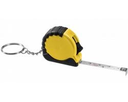 Přívěsek na klíče metr LIBYA s brzdou, délka pásma 1 m - žlutá