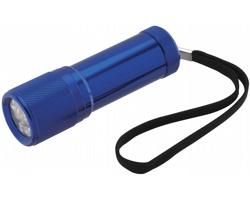 Hliníková LED svítilna OXIDE v dárkovém balení - královská modrá