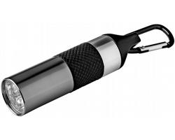 Hliníková LED svítilna s otvírákem láhví OAKMAN - metalická