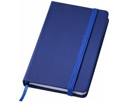 Mini zápisník SHUT se stužkou - tmavě modrá