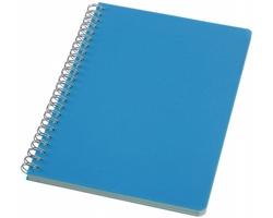 Linkovaný zápisník LIST, formát A5 - světle modrá